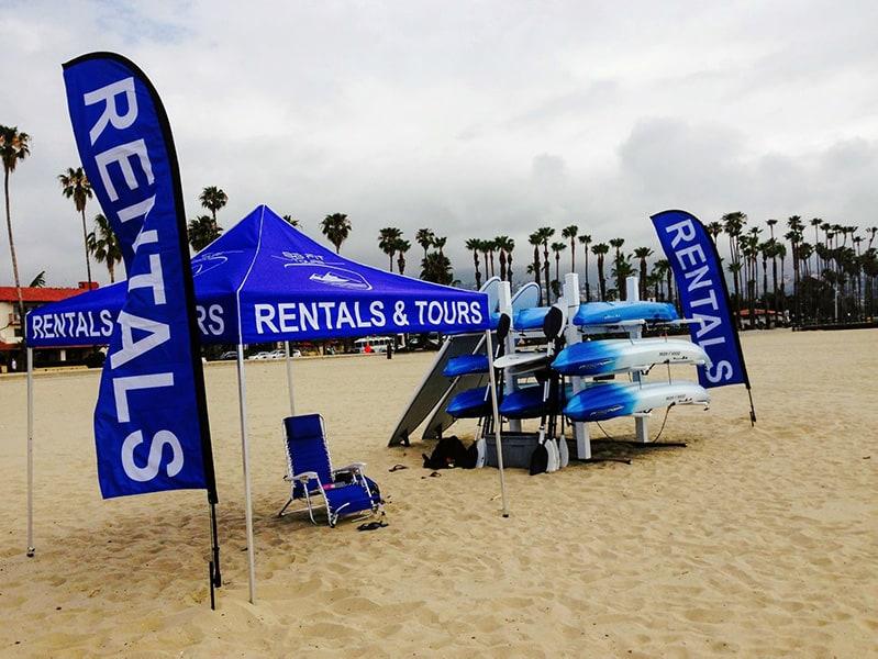 Santa Barbara Surf School location west beach