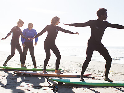 Group Surf Lessons Santa Barbara image