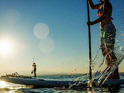 Standup Paddle Lessons image Santa Barbara