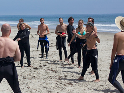 Corporate Group Surf Lessons homepage image