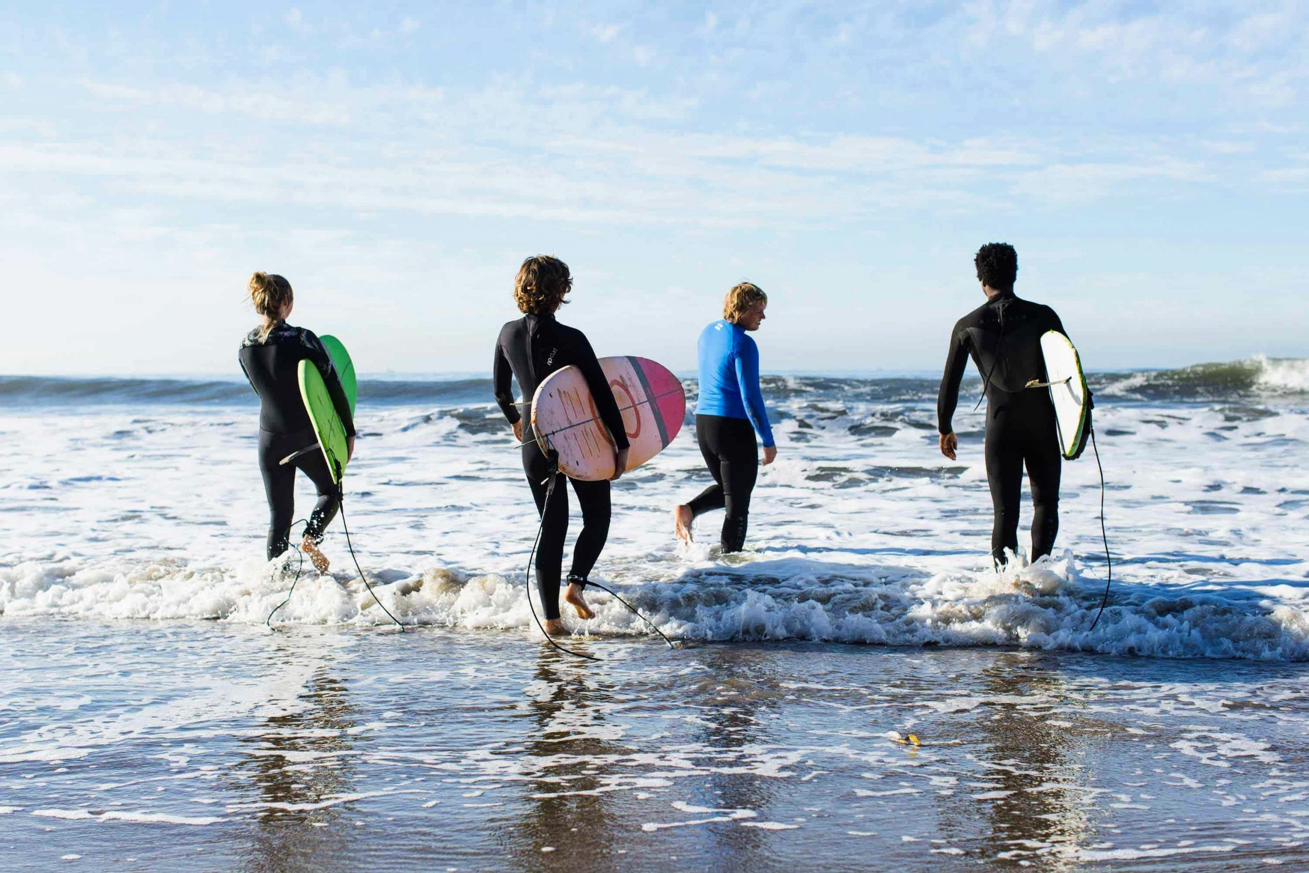 Surfing in Santa Barbara image
